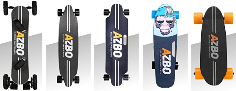 AZBO Portable Mini Electric Skateboard