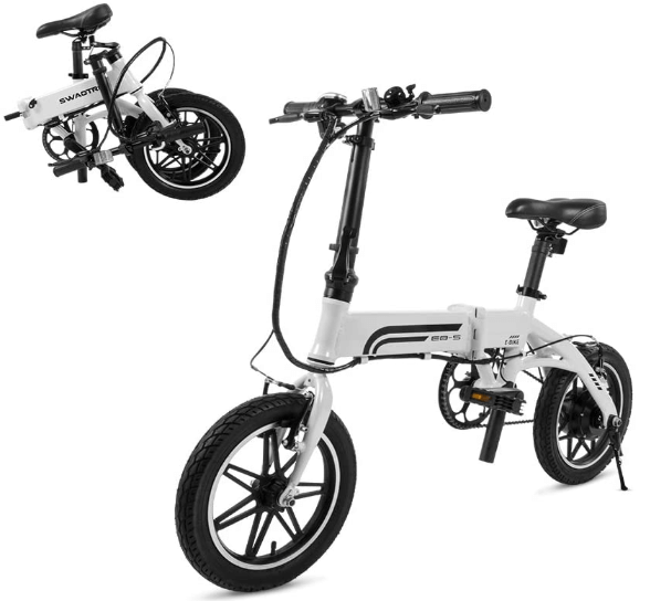 SWAGCYCLE EB5 Plus Folding Electric Bike