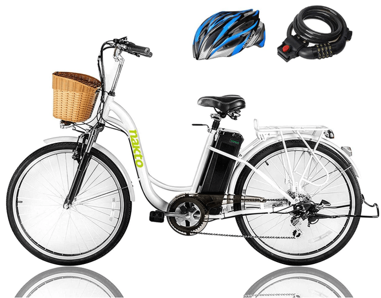 "NAKTO 26"" 250W Cargo Electric Bicycle"